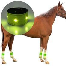 Leg-Protection-Belt Ankle-Strap Luminous-Equipment Riding Night-Walking-Horse LED Reflective-Leg
