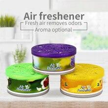 Car Air Freshener Car Perfume Gel Can Fragrance Box Solid Perfume Deodorant Vani