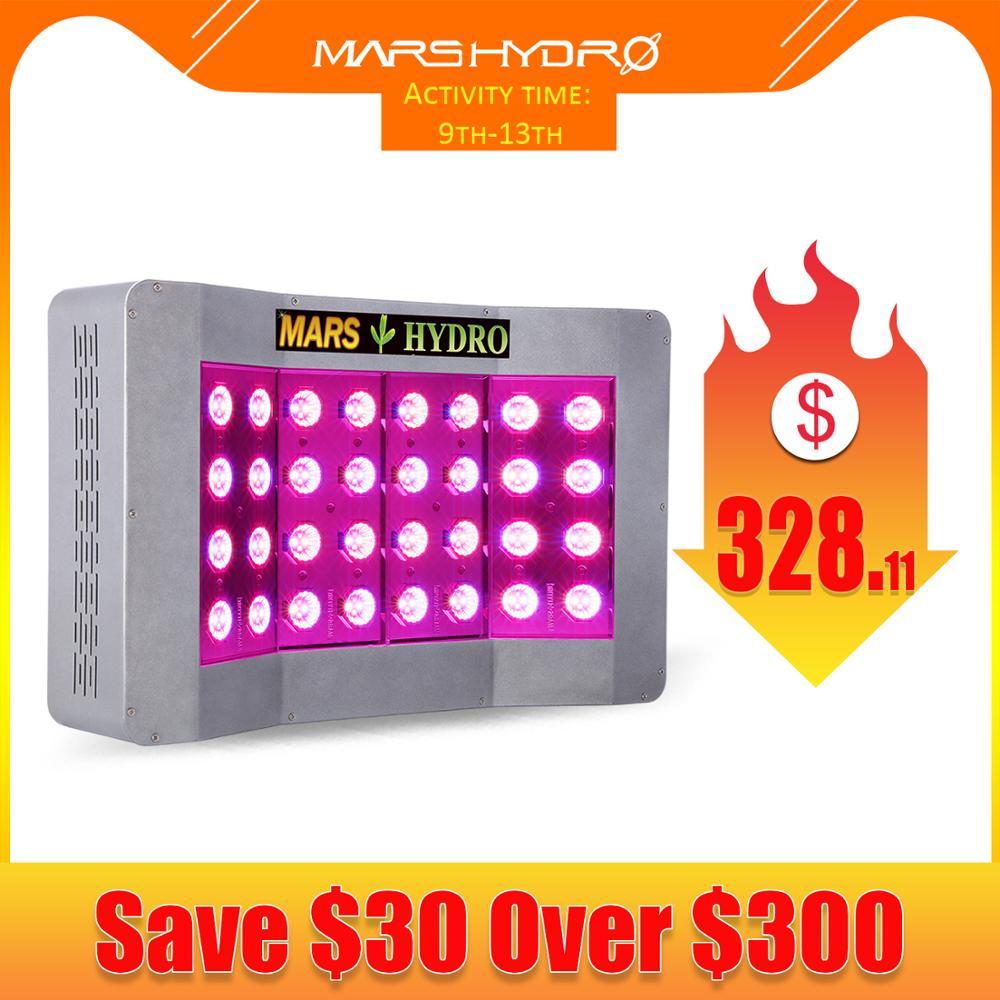 Mars Pro II CREELEDs 600W LED Grow Light Lamp Full Spectrum Indoor Hydro Veg Flower 340W