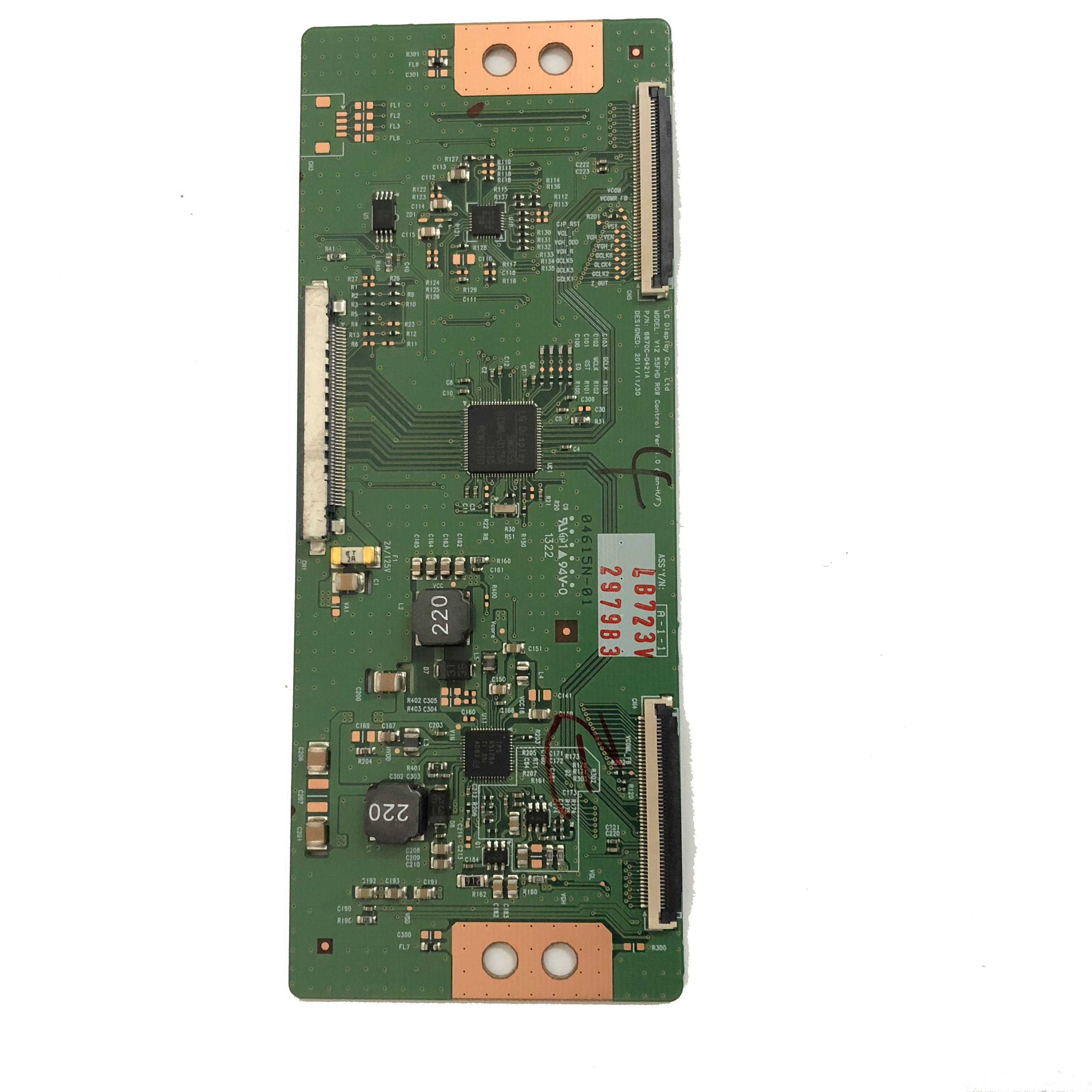 Vilaxh 6870C-0401B carte logique pour LG LC37/42/47/55 FHD 6870C-0401B 6870C-0401C avec connecteur blanc