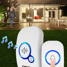 Smart Doorbell Bell-Alarm Button Fuers Welcome Intelligent Waterproof Home Wireless 32-Songs