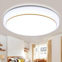 Lampy sufitowe aluminium + akryl wysokiej jasności lampa sufitowa Led salon sypialnia łazienka dekoracja wnętrz wyposażenie kuchni