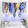 – 90 bis 300cm – *7 Feder-Motive* Wandteppich / Tischdecke / Tuch, Vogelfedern Geschenk-Ideen   Tapisserie und Tischdecken 15