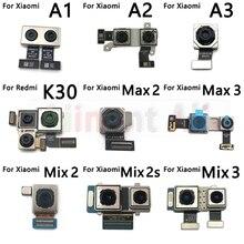오리지널 와이드 빅 메인 백 리어 카메라 모듈 Xiaomi Redmi 용 리본 플렉스 케이블 K20 K30 Mi Mix Max 2 2s 3 A1 A2 A3 K20 Pro
