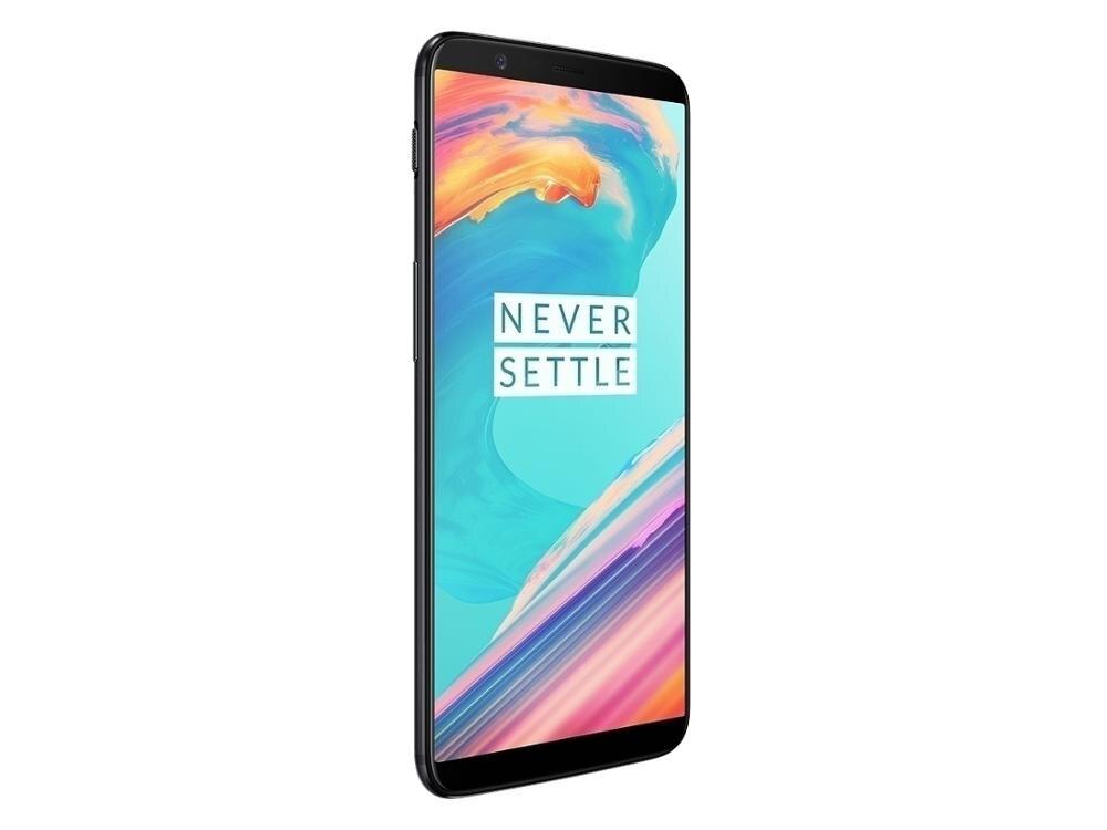 Marca nueva versión Global Oneplus 5T teléfono móvil huella dactilar NFC Android Snapdrago 835 4G LTE 6GB 64GB 6,01