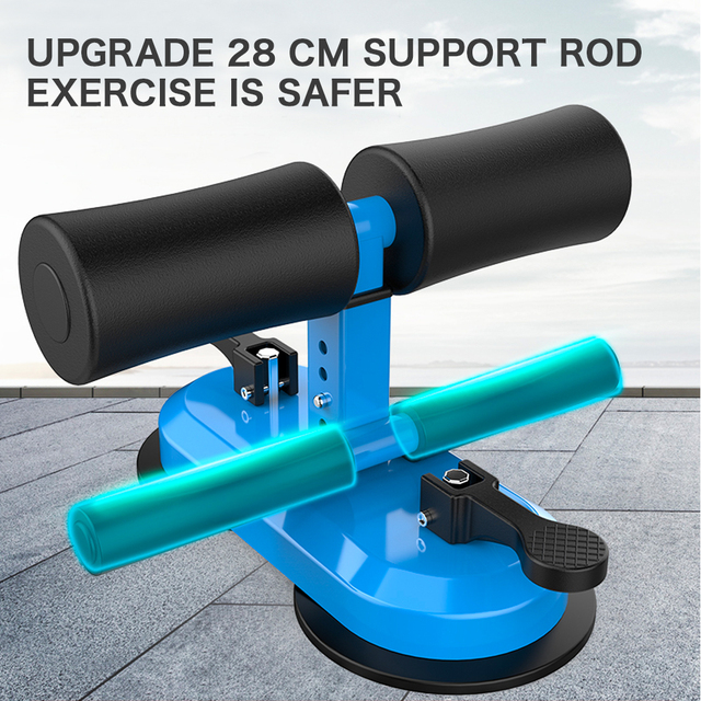 DMAR Adjustable Sit Up Bars Abdominal Core Workout Strength Training Sit up Assist Exercise Fitness Equipment Home Gym Yoga Mat 2