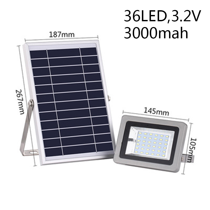 Waterproof LED Motion Sensor Solar Powered Flood Light Outdoor Garden Security Lamp Home Garden Supplies Accessories