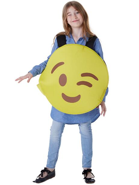 Funny clothes Round Smiley Face Expression Costumes for Kids Adult Masquera Halloween Cosplay Costume Emoji Smiling Face Vest
