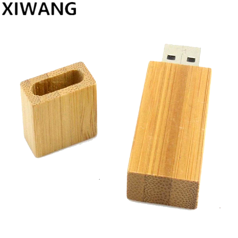 Image 3 - wooden USB flash drive 64gb new fashion gifts pen drive 32gb pendrive 16gb memory stick 128gb 4GB 8GB with box free custom LOGO-in USB Flash Drives from Computer & Office