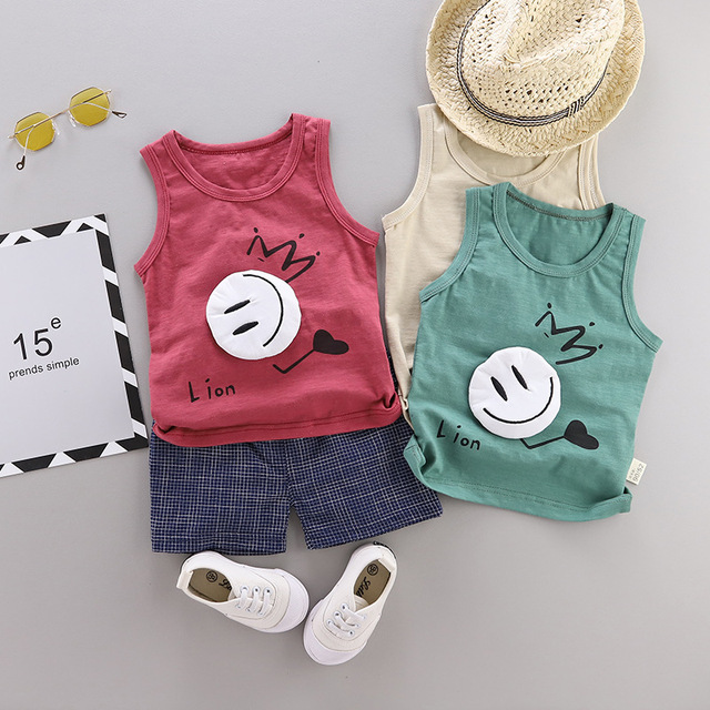 Baby Boy Summer Clothing Sports Outfit Set