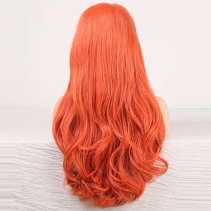 Image 5 - Charisma Body Wave Lace Front Wigs Free Part Red Wig Synthetic Lace Front Wig High Temperature Fiber Hair Women Wigs