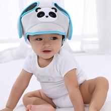 Детская шапка для малыша, защищающая от столкновений, защитная шапка для ребенка, мягкая, удобная, регулируемая защита головы