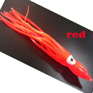 2020fishing squid octopus red 4000pcs red 12CM ,length is 12CM