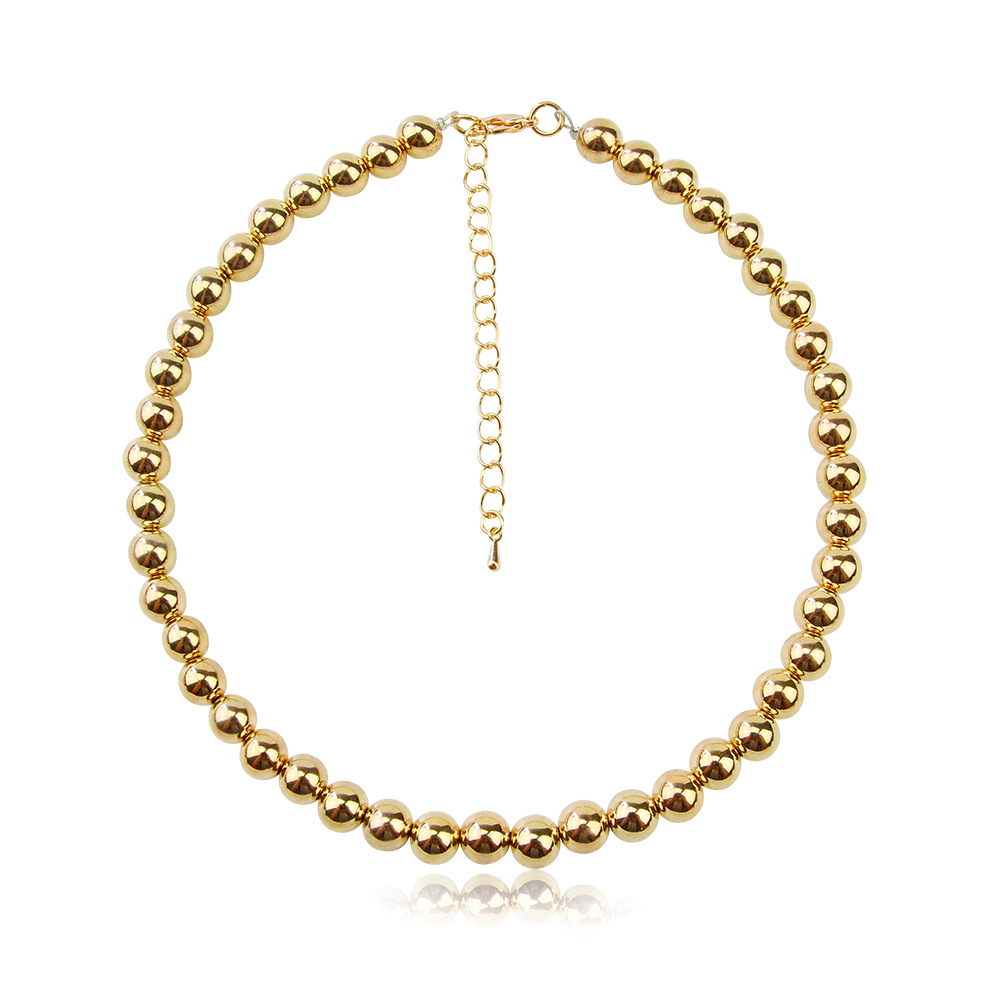 2020 Fashion Balls Chain Choker Collares Punk Necklace European And American Necklace For Women Jewelry