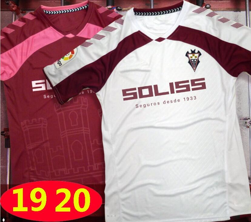 2019 pour Albacete Futbol Camisa chemises 2019 2020 Albacete Camiseta de futbol chemise loisirs meilleure qualité décontracté course T-Shirts