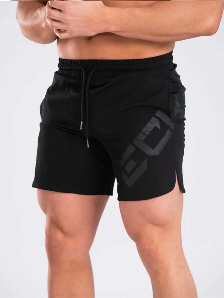 Men's Running Trainning Shorts Fitness Sport Outdoor Casual Breathable Short Pants 5 Point Pants Quick-drying Slim Beach Shorts