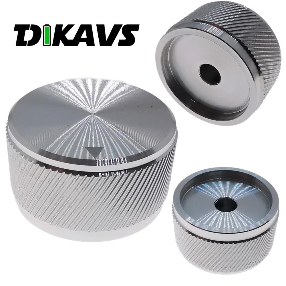 GD-PARTS Black Solid Aluminum Knob AMP Radio Recorder CD Volume Control 30x17mm