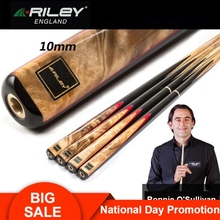 RILEY RHY200/201 One Piece Snooker Cue 3/4 Split 10mm Deer Master Tip Professional Ashwood Shaft with Good Extension