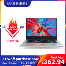 "MaiBenBen XiaoMai 6A for Office Laptop N4100+MX250 2G Graphics Card/8G RAM/ 128G SSD+1TB HHD/DOS/Silver 15.6"" ADS Metal Notebook(China)"