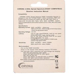 Image 5 - Corona R820FA F4FA R6FA F8FA R14FA 2.4Ghz FUTABA 10C 12FG 14SG 16SZ 18SZ FASST Compatible Receiver