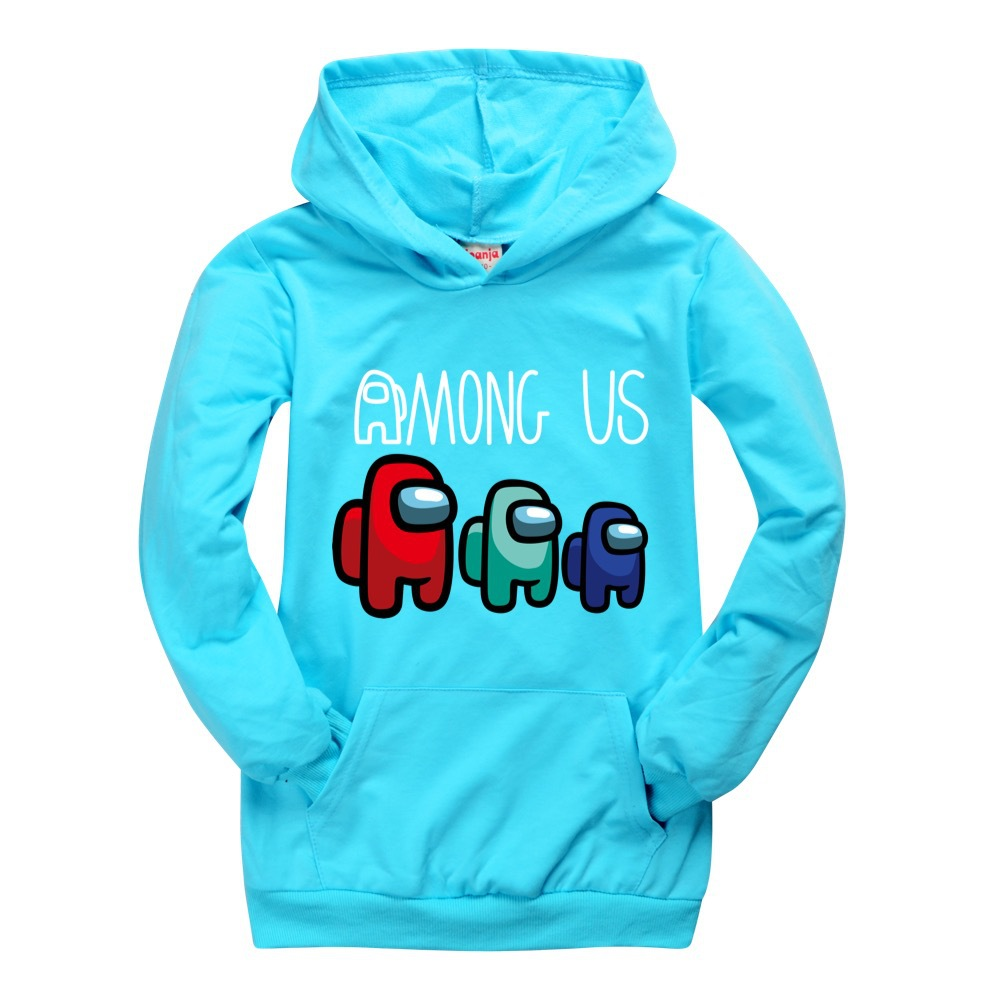 Casual Pocket Boys Hoodie Fall Clothes for Kids Among US Girls shirts  10 To 12 Teenage Top  Children Boutique Kids Clothing 2