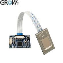 Недорогой модуль датчика отпечатка пальца GROW R304, Сканер контроля доступа с бесплатным SDK