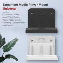Get more info on the Universal Wall Mount Bracket Suitable For Set-Top Box Router Light Cat Switch Wireless Same Screen Mainstream Media Equipment