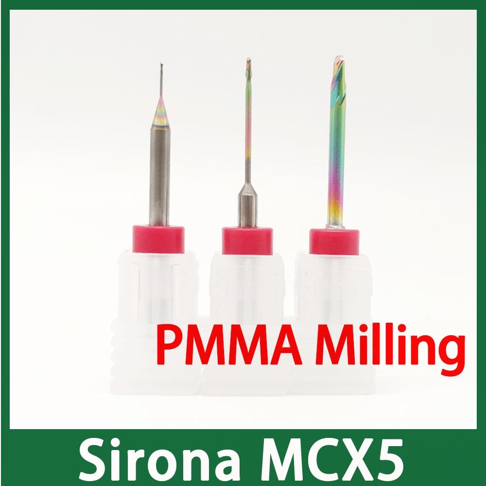 Sirona MCX5 End Milling For PMMA, PEEK, Wax Milling