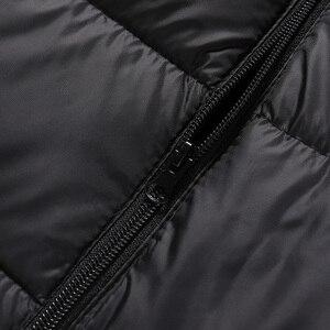Image 5 - SingleRoad Winter Vest Men 2019 Camouflage Bodywarmer Sleeveless Jacket Male Ultralight Warm Black Mens Cotton Coat Windproof