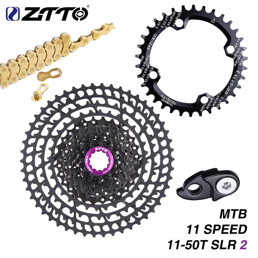 ZTTO متب 11 سرعة 50T SLR كاسيت 11-50T 11s نسبة واسعة خفيفة 360g نك الحرة عجلة دراجة هوائية جبلية دراجة أجزاء ل X1 9000 sl