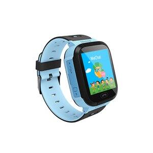 Image 2 - Los niños Smartwatch niños niñas reloj inteligente para niños con GPS a prueba de agua/LBS rastreador juegos SOS llamada de alarma linterna voz C