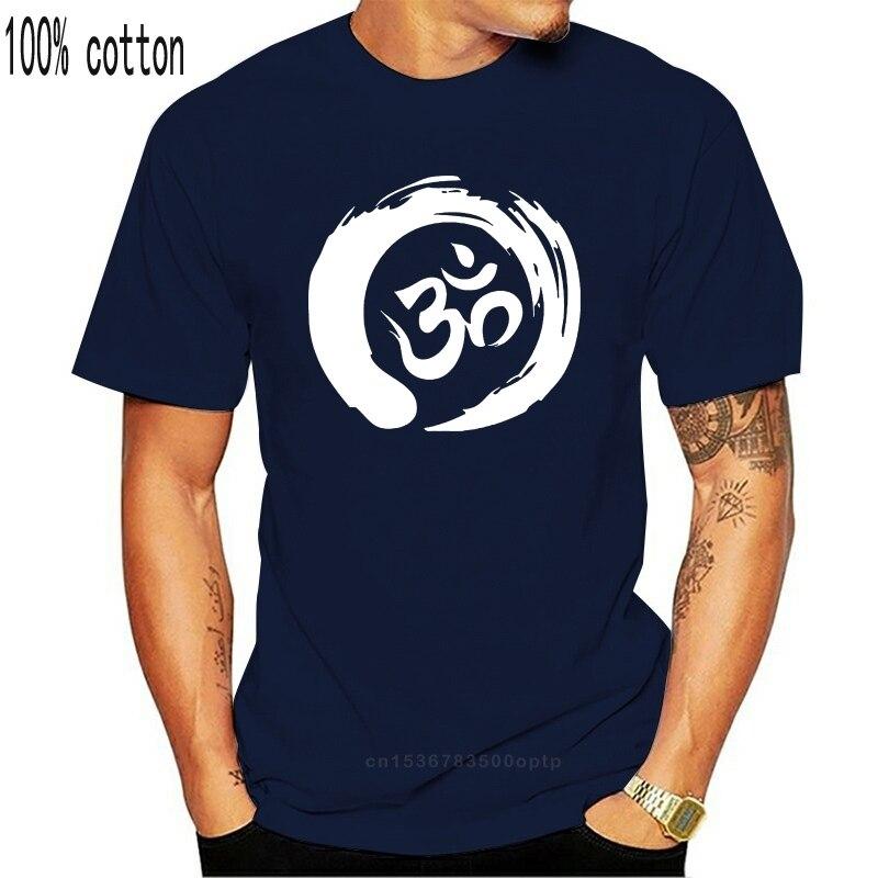 Ом Футболка Йога дзен медитация положительная Vibe Savasana Namaste веганская футболка J05 крутая Повседневная гордость Мужская Унисекс Новая мода|Футболки| | АлиЭкспресс