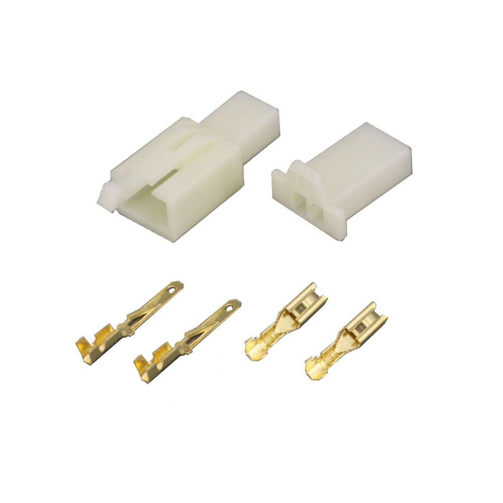100 conjuntos/kits 2.8 série 2 pinos/maneira abs DJ7021A-2.8-11/21 conectores de fio elétrico plug macho e fêmea conector do automóvel