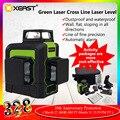 XEAST XE-903 12 линейный лазерный уровень 360 самонивелирующийся перекрестный 3D лазерный уровень зеленый луч с наклоном и внешним режимом можно ис...