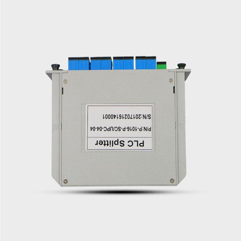 10PCS SC UPC PLC 1X8 splitter Fiber Optical Box FTTH PLC Splitter box with 1X8 PLC Optical splitter