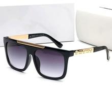 Luxury Oversize Square Sunglasses Women 2020 Vintage Punk Go
