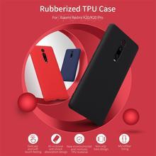Dla Xiao mi mi 9T czerwony mi K20 Case mi 9T Pro pokrywa NILLKIN gumowany TPU nietoksyczny odporny na wstrząsy tylna okładka Case dla czerwony mi K20 Pro