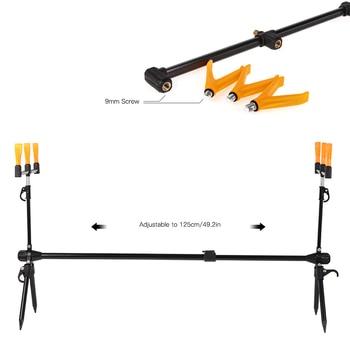 Best 100% original Lixada Fishing Rod Pod Stand Holder Retractable Carp Fishing Pole Fishing Rods Brand Name: LIXADA