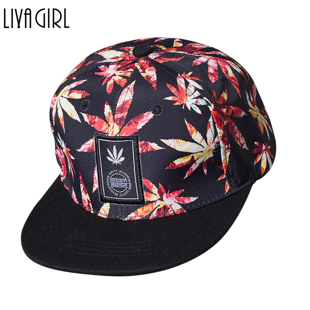 Hats Baseball-Cap Snapback Maple-Leaf Letters Spring Hip-Hop High-Quality Autumn Adult