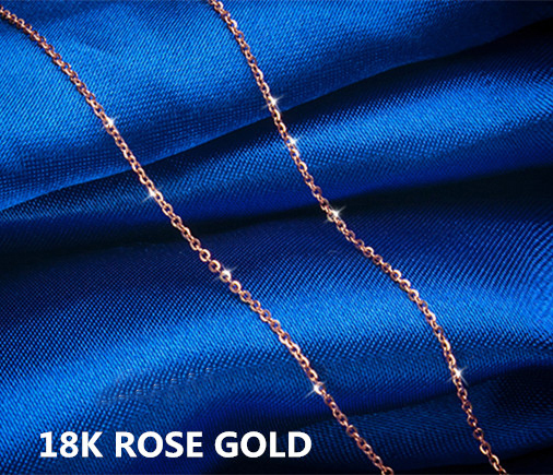Pure 18K rose gold