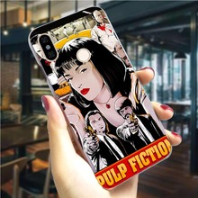 Pulp Fiction Movie Phone Case for Xiaomi Mi 8 Lite Cover A1