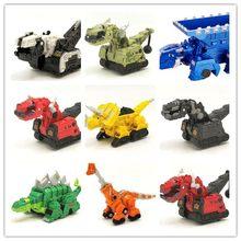 Liga dinotrux dinossauro caminhão removível dinossauro brinquedo carro veículo mini modelos novas crianças presentes brinquedos modelos de dinossauro