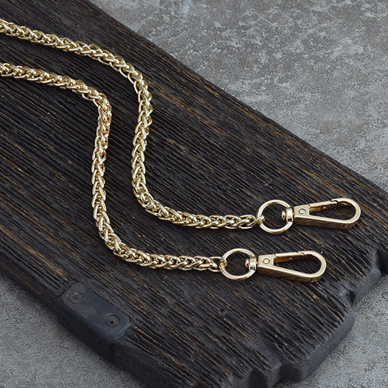 Silver Chain Metal Bag Strap, Strap With 120cm / 100cm Handle, Interchangeable Handbag, Shoulder Strap, 4 Colors