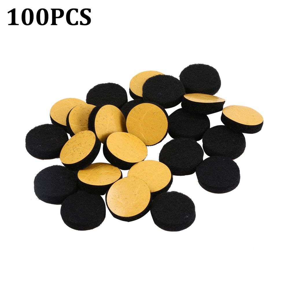 24/50/100pcs Round Table Chair Furniture Leg Felt Mat Pad Painting Calligraphy Felt Cloth Pad