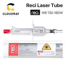 Cloudray Tube Laser Reci W6/T6 130W, diamètre demballage en bois, Tube Laser CO2 Machine de découpe et gravure avec Laser CO2, pour S6 Z6, 80mm/65mm