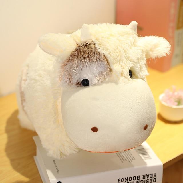 1pc lovely wild yak doll cow plush toys