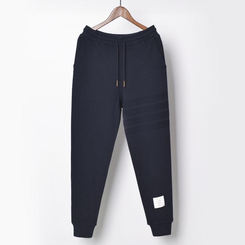 new arrivals 2021 TB THOM men's Jacquard full length sweatpants sport casual pants men cotton trousers Jogging pants male