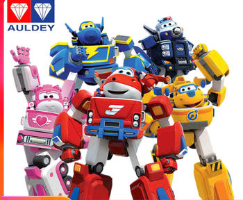 Action Figures Toys Transformation Super Big Wing Fly Hero Planes Rescue Robot Deformation Armor Animation Toy for Children 8pcs mini anime super wings model mini planes toy transformation airplane robot action figures superwings toys for children 9cm