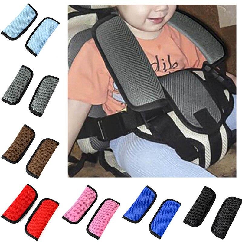 2 шт./пара автомобильное детское безопасное сидение ремня безопасности с наплечной подушкой безопасности ремень плечевой ремень крышка