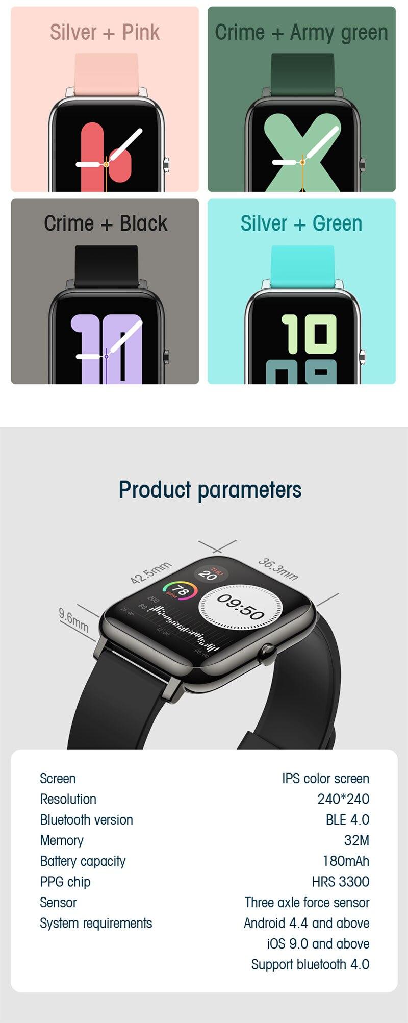 mensagem lembrete bluetooth smartwatch para android ios